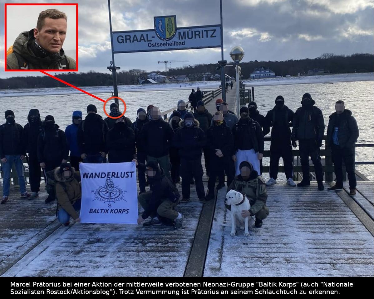 Rostock: Marcel Prätorius - ein gewalttätiger Neonazi im Dienst der FIUM GmbH?